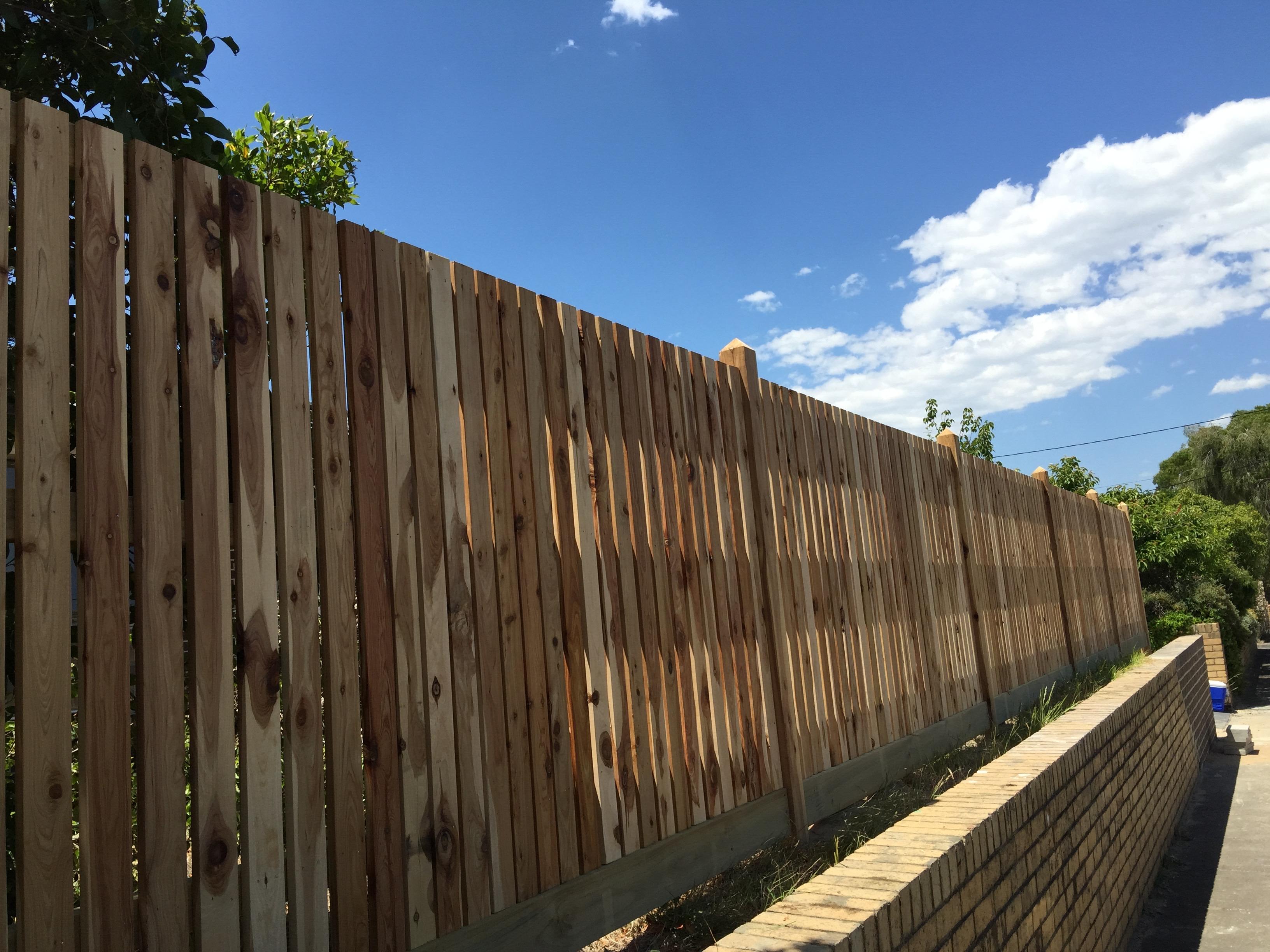 Timber Amp Paling Fence Builders Melbourne Ash Amp El Fencing