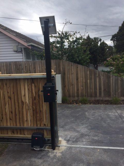 Remote Amp Automatic Gates Melbourne Ash Amp El Fencing